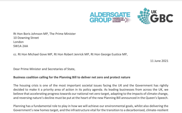 Elliott Wood joins call to put net zero at the heart of the new Planning Bill