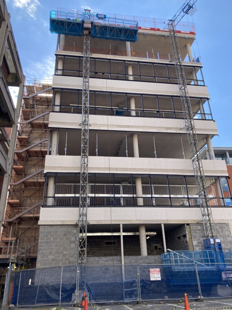 One Portwall Square tops out!