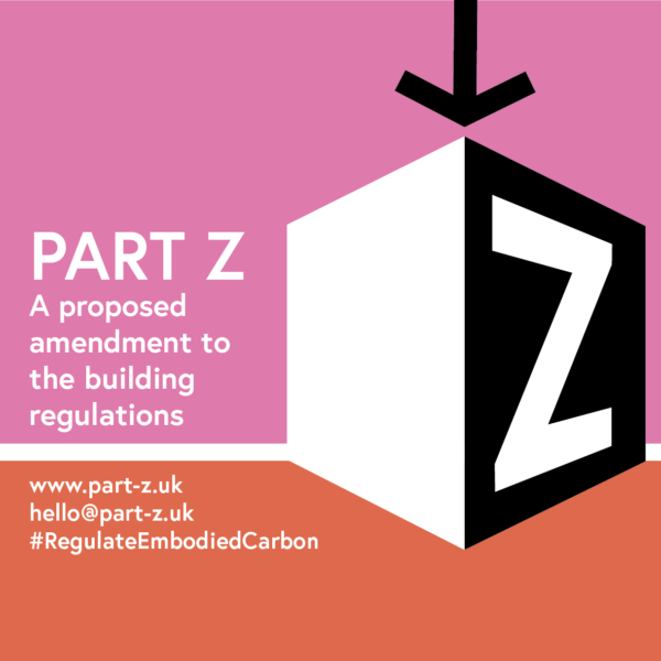 Part Z proposal for regulating embodied carbon