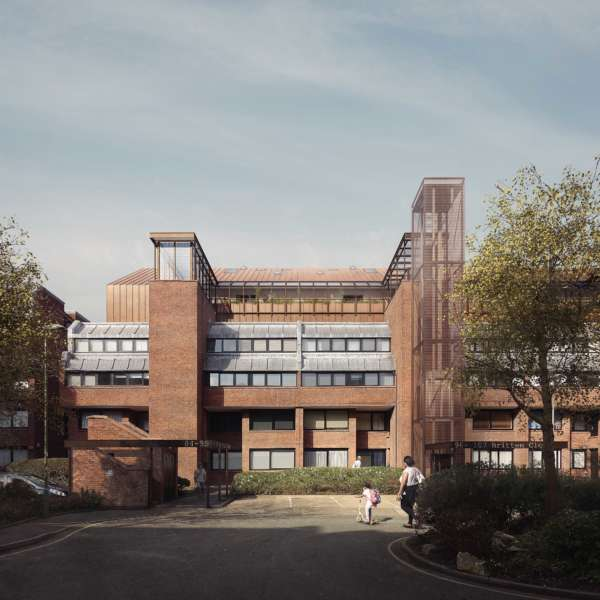 Plans submitted for rooftop flats at Golders Green estate