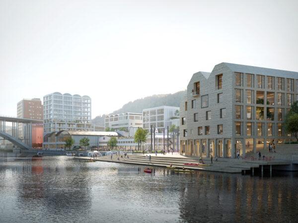Competition win: Bergen Waterfront Masterplan