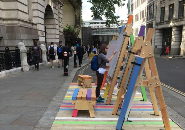 London Festival of Architecture   City Parklets