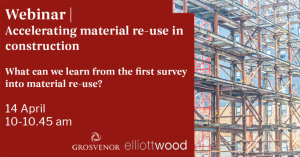 Event: Accelerating materials reuse in construction