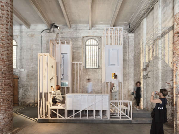 In the city of masks - The Venice Biennale