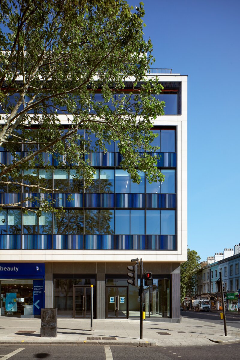 Building with timber - 92-120 Notting Hill Gate