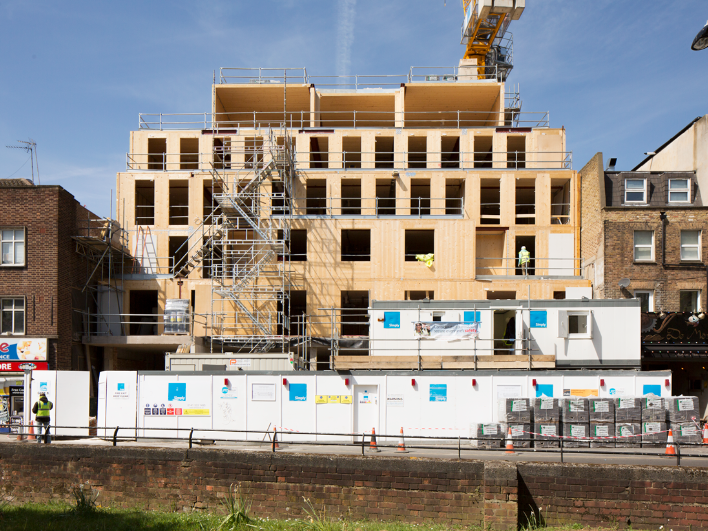 Building with timber: Hoxton Cinema