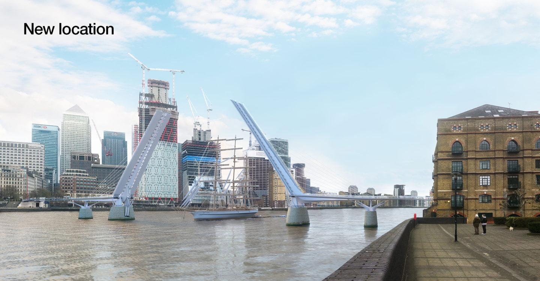 Rotherhithe Bridge, London
