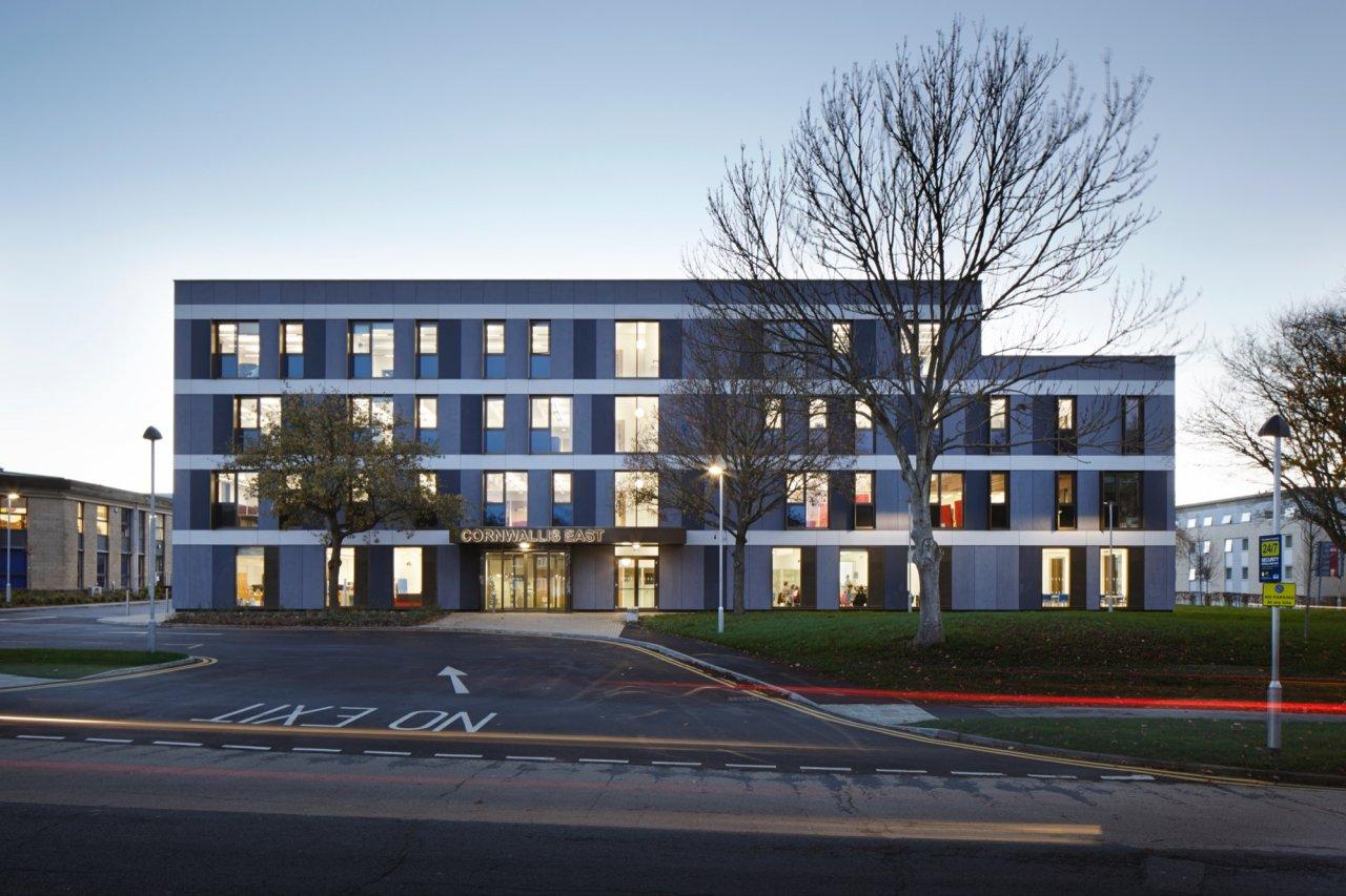 Cornwallis East, University of Kent, Kent