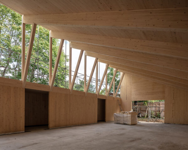 Two projects shortlisted for the Structural Timber Awards 2021