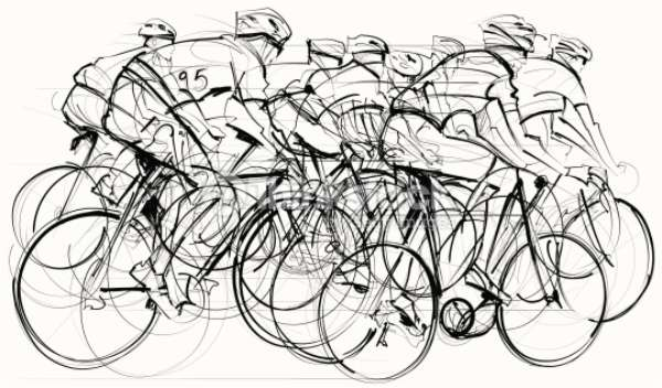 6 days to Cannes…. on a bike