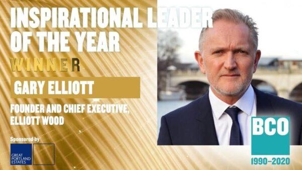 Gary Elliott wins Inspirational Leader of the Year