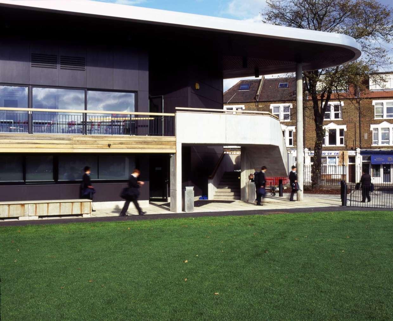 Latymer Upper School Sports Pavilion, London